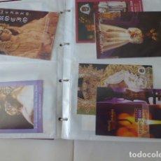 Carteles de Semana Santa: COLECCION DE ITINERARIOS DE MANO DE SEMANA SANTA DE MALAGA, 112 DIFERENTES,. Lote 175399580