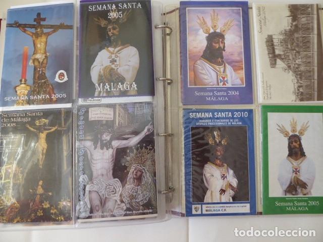 Carteles de Semana Santa: coleccion de itinerarios de mano de semana santa de malaga, 112 diferentes, - Foto 3 - 175399580