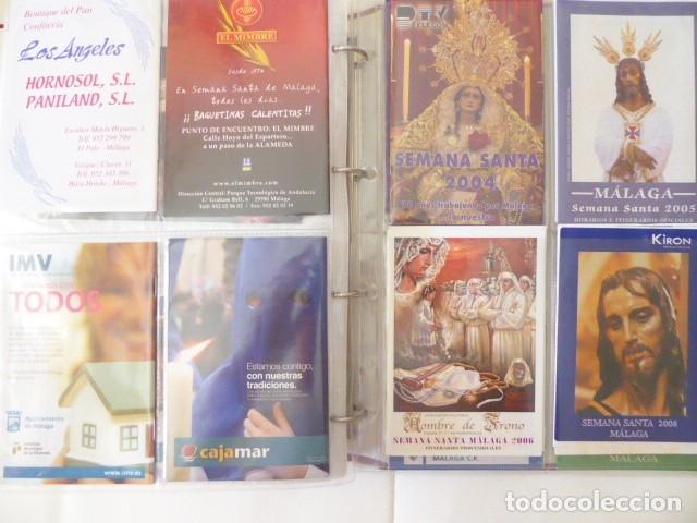 Carteles de Semana Santa: coleccion de itinerarios de mano de semana santa de malaga, 112 diferentes, - Foto 4 - 175399580