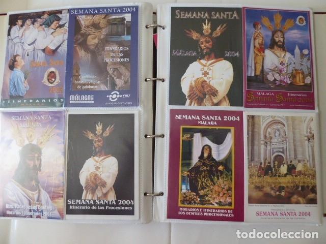 Carteles de Semana Santa: coleccion de itinerarios de mano de semana santa de malaga, 112 diferentes, - Foto 8 - 175399580