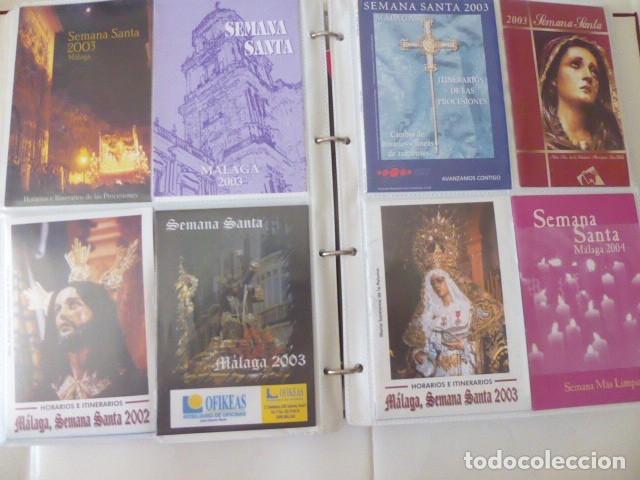 Carteles de Semana Santa: coleccion de itinerarios de mano de semana santa de malaga, 112 diferentes, - Foto 9 - 175399580
