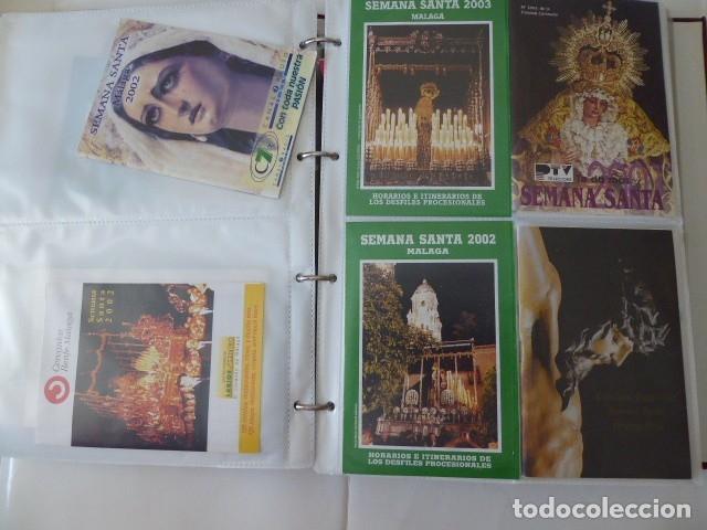 Carteles de Semana Santa: coleccion de itinerarios de mano de semana santa de malaga, 112 diferentes, - Foto 10 - 175399580
