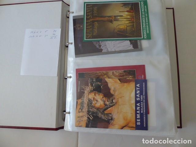 Carteles de Semana Santa: coleccion de itinerarios de mano de semana santa de malaga, 112 diferentes, - Foto 11 - 175399580
