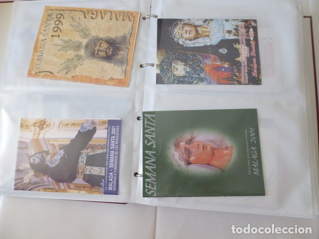 Carteles de Semana Santa: coleccion de itinerarios de mano de semana santa de malaga, 112 diferentes, - Foto 12 - 175399580