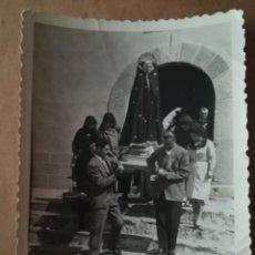 Carteles de Semana Santa: FOTOGRAFIA PROCESION, AÑOS 60. Lote 175425272