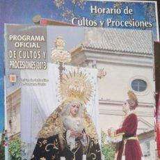 Carteles de Semana Santa: SEMANA SANTA UBEDA 2013. Lote 175574358