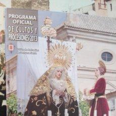 Carteles de Semana Santa: SEMANA SANTA UBEDA 2013. Lote 175574905
