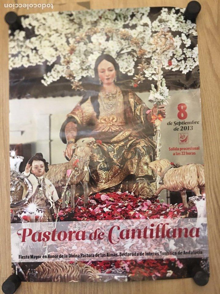 CANTILLANA 2013 - FIESTA MAYOR EN HONOR DE LA DIVINA PASTORA - MEDIDAS 49X68.5CM (Coleccionismo - Carteles Gran Formato - Carteles Semana Santa)