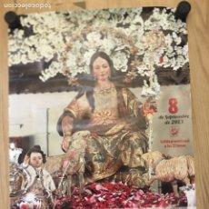 Carteles de Semana Santa: CANTILLANA 2013 - FIESTA MAYOR EN HONOR DE LA DIVINA PASTORA - MEDIDAS 49X68.5CM. Lote 177878950