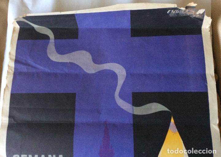 Carteles de Semana Santa: Cartel Semana Santa sevilla 1969.escudero.graficas del sur 66x45 cm - Foto 2 - 177889788