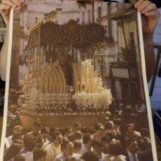 Carteles de Semana Santa: SEMANA SANTA SEVILLA, 1985, CARTEL DE LA TERTULIA AZAHAR, 44X68 CMS. Lote 179221666