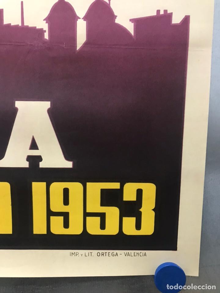 Carteles de Semana Santa: MURCIA - CARTEL DE SEMANA SANTA, AÑO 1953 - LITOGRAFIA - ILUSTRADOR: A. CARBONELL - Foto 2 - 179952131