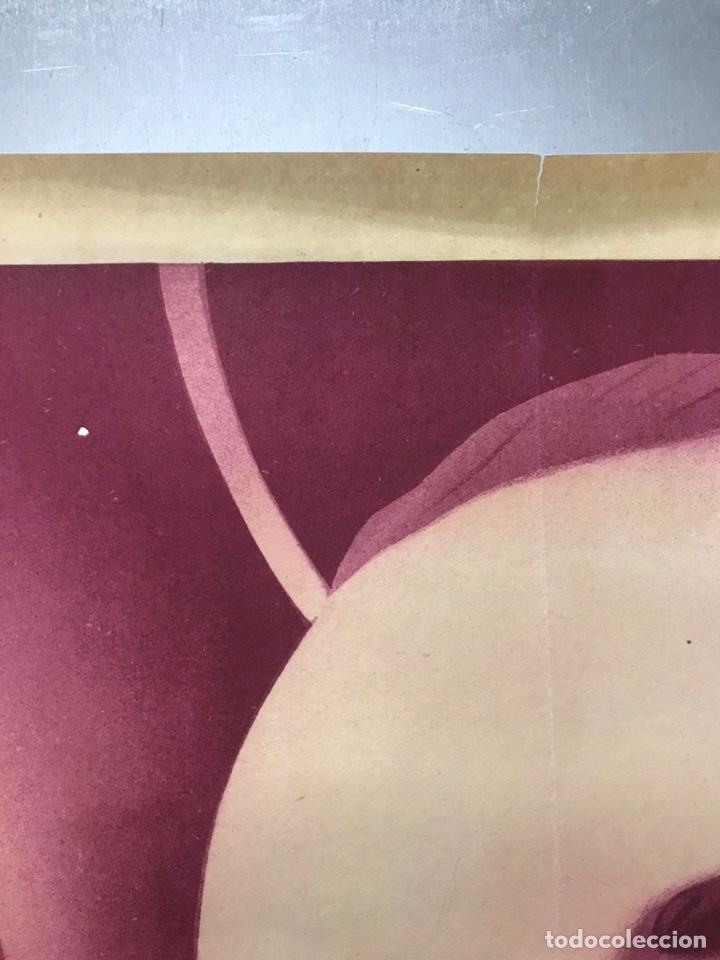 Carteles de Semana Santa: MURCIA - CARTEL DE SEMANA SANTA, AÑO 1953 - LITOGRAFIA - ILUSTRADOR: A. CARBONELL - Foto 4 - 179952131