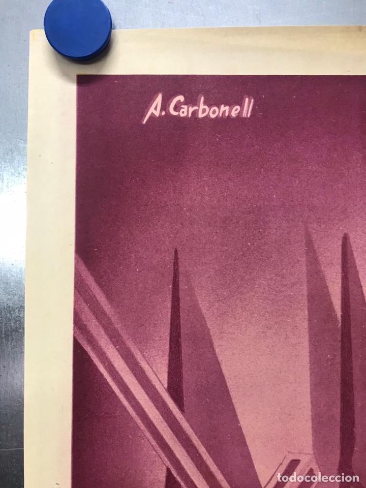 Carteles de Semana Santa: MURCIA - CARTEL DE SEMANA SANTA, AÑO 1953 - LITOGRAFIA - ILUSTRADOR: A. CARBONELL - Foto 5 - 179952131