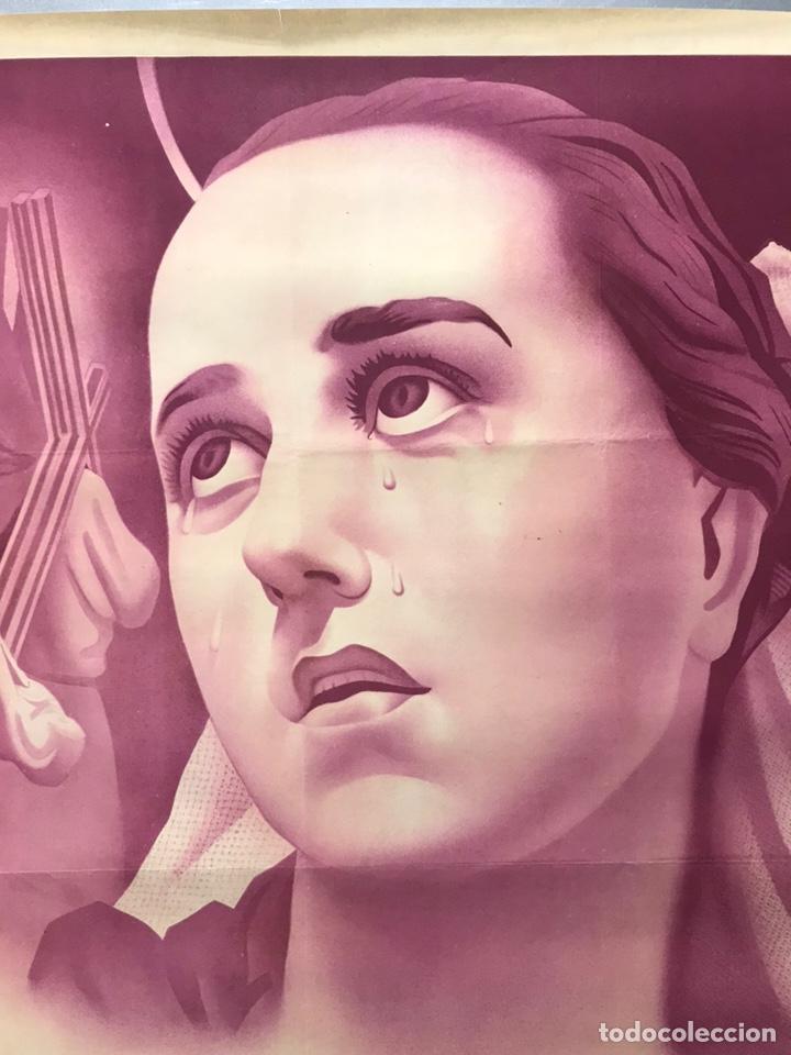 Carteles de Semana Santa: MURCIA - CARTEL DE SEMANA SANTA, AÑO 1953 - LITOGRAFIA - ILUSTRADOR: A. CARBONELL - Foto 7 - 179952131