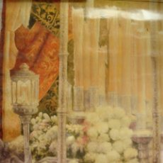 Carteles de Semana Santa: SEMANA SANTA SEVILLA 2008 .62X73. DIAZ CASTELAR. Lote 181326556