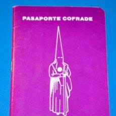 Carteles de Semana Santa: PASAPORTE COFRADE. SEMANA SANTA SEVILLA. Lote 183299260