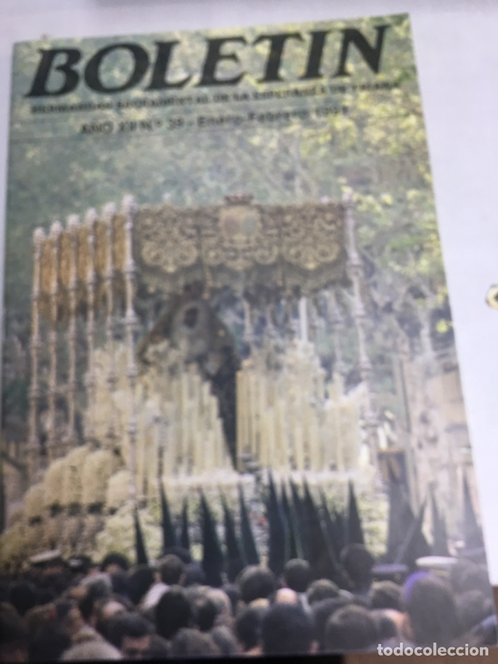 BOLETIN HERMANDAD SACRAMENTAL ESPERANZA DE TRIANA - AÑO XII Nº39 - FEBRERO 1991 (Coleccionismo - Carteles Gran Formato - Carteles Semana Santa)