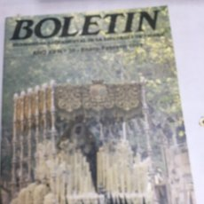 Carteles de Semana Santa: BOLETIN HERMANDAD SACRAMENTAL ESPERANZA DE TRIANA - AÑO XII Nº39 - FEBRERO 1991. Lote 183779693