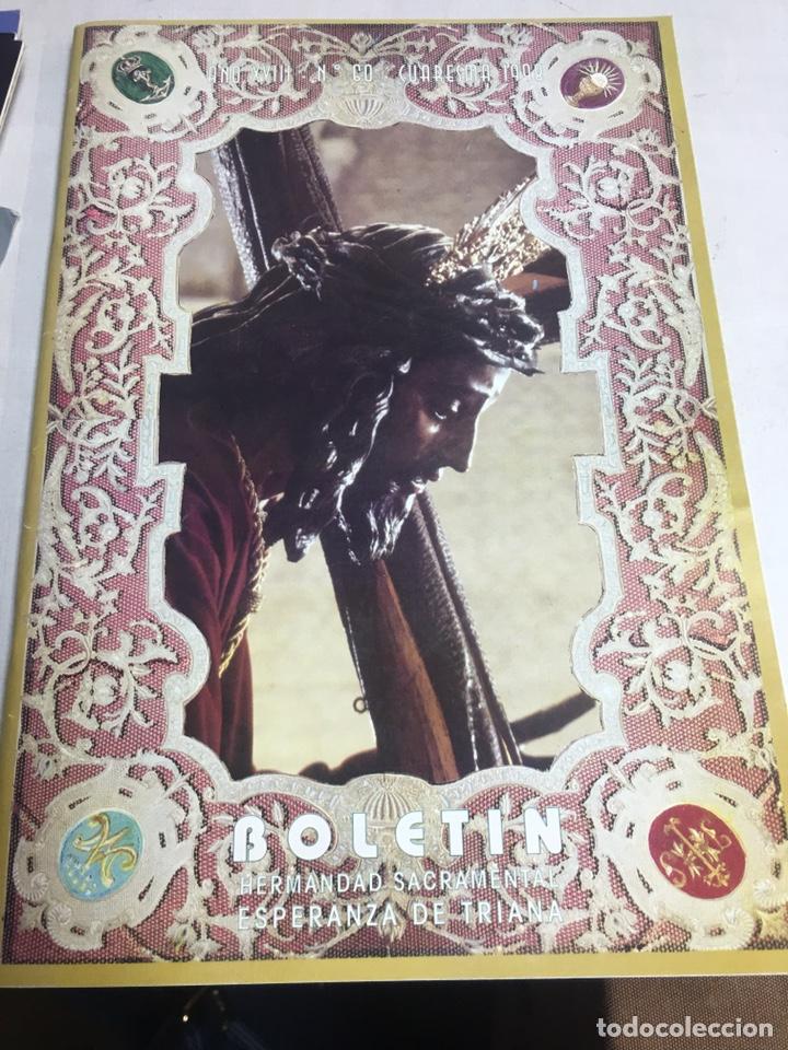 BOLETIN HERMANDAD SACRAMENTAL ESPERANZA DE TRIANA - AÑO XVII Nº60 - CUARESMA 1998 (Coleccionismo - Carteles Gran Formato - Carteles Semana Santa)