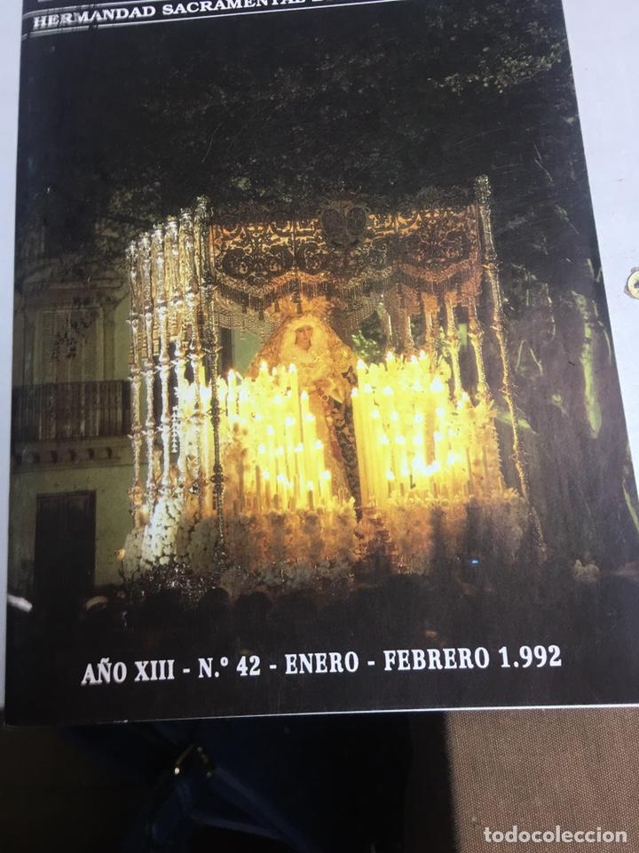 BOLETIN HERMANDAD SACRAMENTAL ESPERANZA DE TRIANA - SEVILLA - AÑO XIII - Nº42 - 1992 (Coleccionismo - Carteles Gran Formato - Carteles Semana Santa)