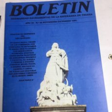 Carteles de Semana Santa: BOLETIN HERMANDAD SACRAMENTAL ESPERANZA DE TRIANA - SEVILLA - AÑO IX - Nº32 - 1988. Lote 183781162