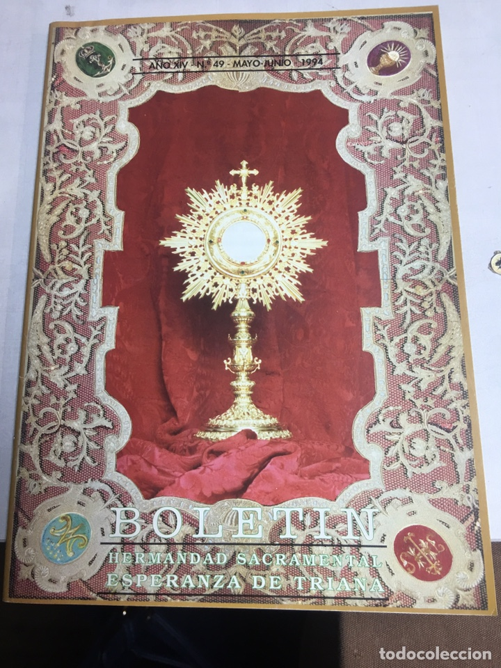 BOLETIN HERMANDAD SACRAMENTAL ESPERANZA DE TRIANA - SEVILLA - AÑO XIV - Nº49 - 1994 (Coleccionismo - Carteles Gran Formato - Carteles Semana Santa)