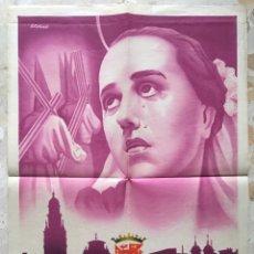 Carteles de Semana Santa: CARTEL SEMANA SANTA MURCIA 1953. Lote 184238283