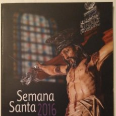 Carteles de Semana Santa: PROGRAMA DE SEMANA SANTA 2016. TENERIFE.. Lote 184581446