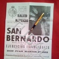Carteles de Semana Santa: TUBAL CARTEL GRANDE SEMANA SANTA DE SEVILLA HERMANDAD SALUD REFUGIO SAN BERNARDO ENVIO 2,35 € 2019. Lote 187171516