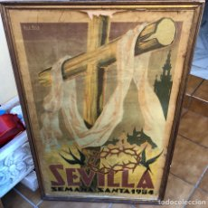 Carteles de Semana Santa: CARTEL DE SEMANA SANTA SEVILLA 1954. Lote 190927027