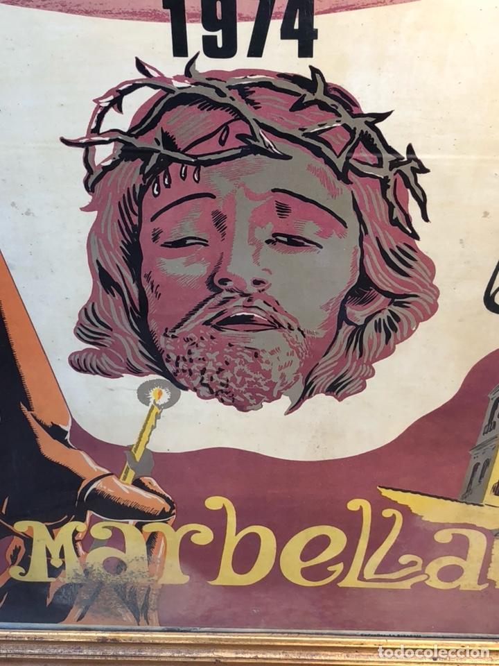 Carteles de Semana Santa: Cartel de Semana Santa 1974, Marbella - Foto 2 - 190927642