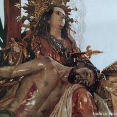 Carteles de Semana Santa: 2009 CARTEL PUBLICITARIO SEMANA SANTA VIRGEN ANGUSTIAS SALZILLO BIENVENIDOS A YECLA. Lote 191378453