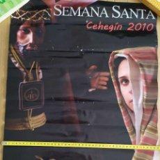 Carteles de Semana Santa: 2010 CARTEL PUBLICITARIO GRAN FORMATO SEMANA SANTA CEHEGIN. Lote 191382988