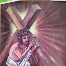 Carteles de Semana Santa: 2008 CARTEL GRAN FORMATO SEMANA SANTA EN TERRALTA DE MOLINA VIA CRUCIS VIVIENTE. Lote 191391883
