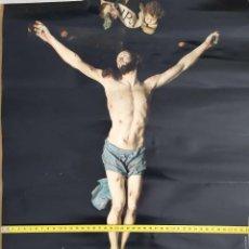 Carteles de Semana Santa: CARTEL GRAN FORMATO SEMANA SANTA SALZILLO MUSEO CATEDRATICO INRI SEÑOR JESUS CRUZ CRUCIFICADO. Lote 191394671