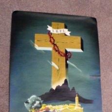 Carteles de Semana Santa: ANTIGUO CARTEL LA PASSIÓ DE ESPARRAGUERA. Lote 191912560