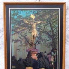 Carteles de Semana Santa: LAS CABEZAS DE SAN JUAN CARTEL SEMANA SANTA 1993 ENMARCADO. Lote 194241265