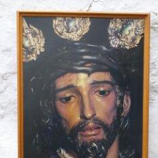 Carteles de Semana Santa: MONTELLANO CARTEL SEMANA SANTA 1992 ENMARCADO. Lote 194241605