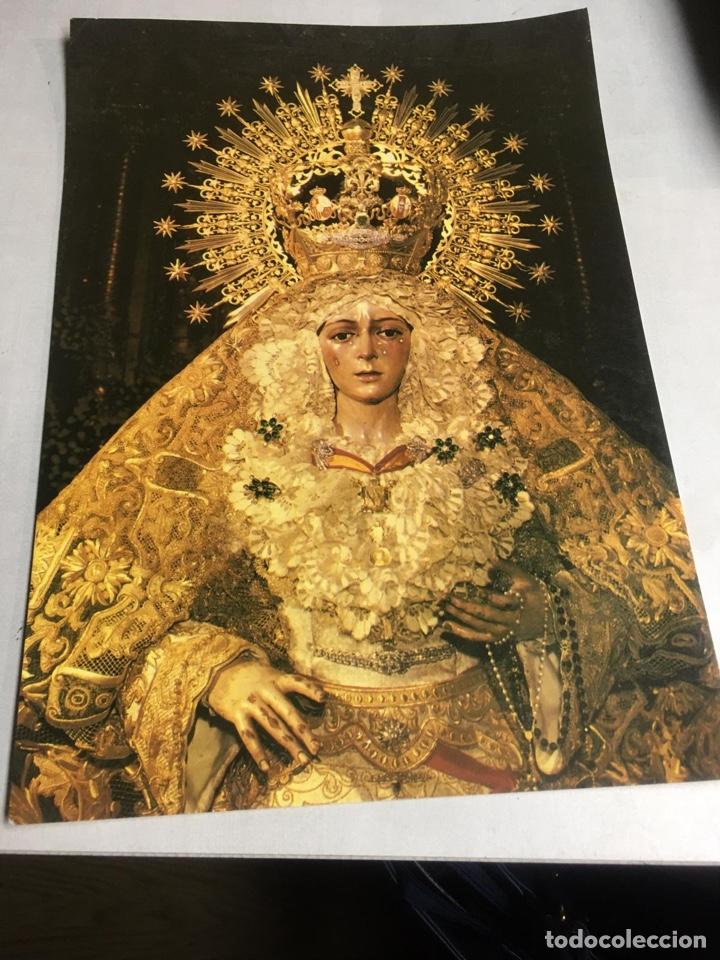 CARTEL SEMANA SANTA - VIRGEN MACARENA - SEVILLA - 21X30CM (Coleccionismo - Carteles Gran Formato - Carteles Semana Santa)