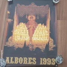 Carteles de Semana Santa: CARTEL SEMANA SANTA SEVILLA, TERTULIA COFRADE ALBORES, AÑO 1993, PEQUEÑO DEFECTO,LEER. Lote 195482016