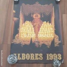 Carteles de Semana Santa: CARTEL SEMANA SANTA SEVILLA, TERTULIA COFRADE ALBORES, AÑO 1993, PEQUEÑO DEFECTO,LEER. Lote 195482140