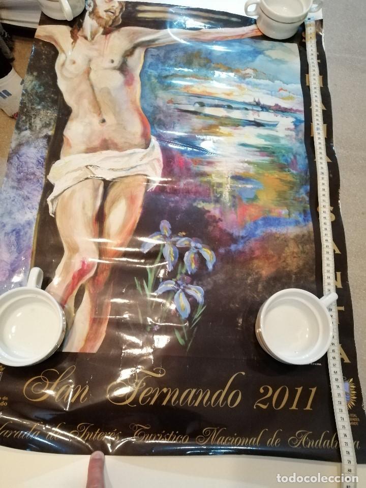Carteles de Semana Santa: G-CADIZ1 LOTE DE 14 CARTELES POSTER DE SEMANA SANTA Y OTROS TAMAÑO GRANDE VENDO SUELTOS TAMBIEN - Foto 2 - 195573220