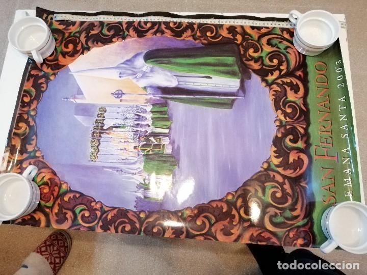 Carteles de Semana Santa: G-CADIZ1 LOTE DE 14 CARTELES POSTER DE SEMANA SANTA Y OTROS TAMAÑO GRANDE VENDO SUELTOS TAMBIEN - Foto 3 - 195573220