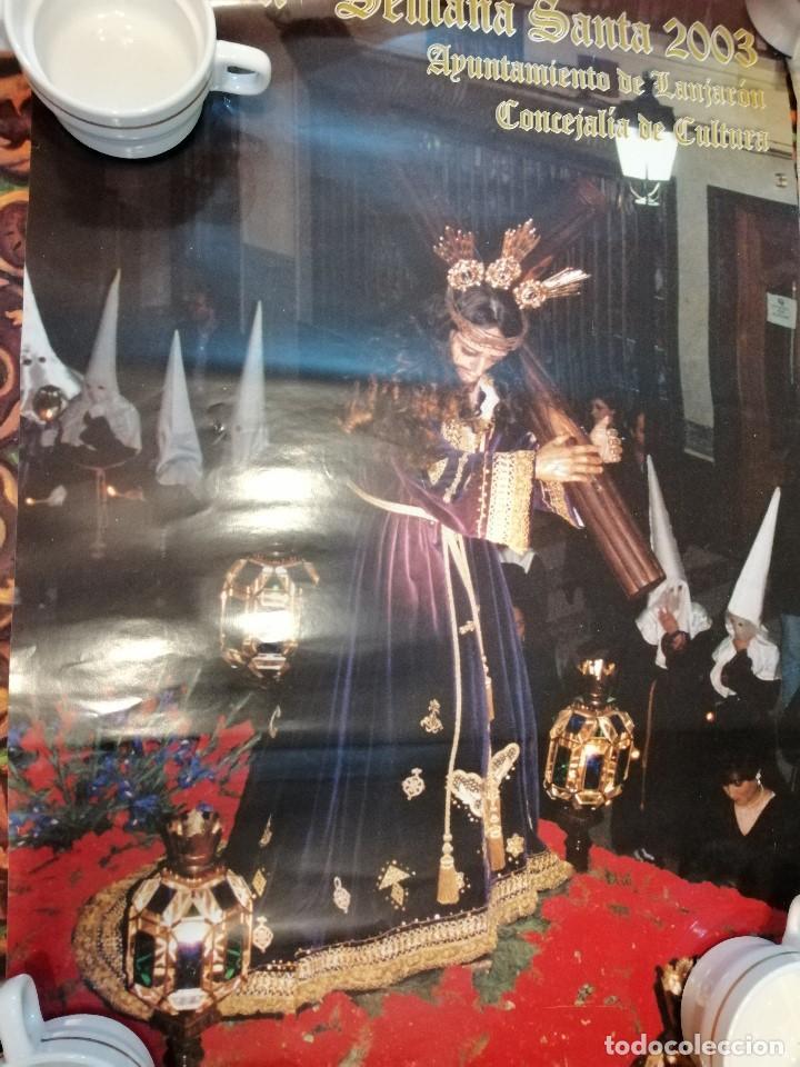 Carteles de Semana Santa: G-CADIZ1 LOTE DE 14 CARTELES POSTER DE SEMANA SANTA Y OTROS TAMAÑO GRANDE VENDO SUELTOS TAMBIEN - Foto 4 - 195573220