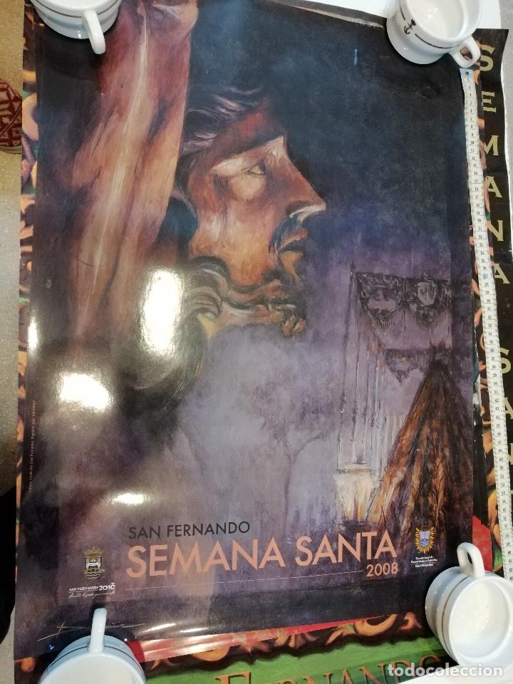 Carteles de Semana Santa: G-CADIZ1 LOTE DE 14 CARTELES POSTER DE SEMANA SANTA Y OTROS TAMAÑO GRANDE VENDO SUELTOS TAMBIEN - Foto 6 - 195573220
