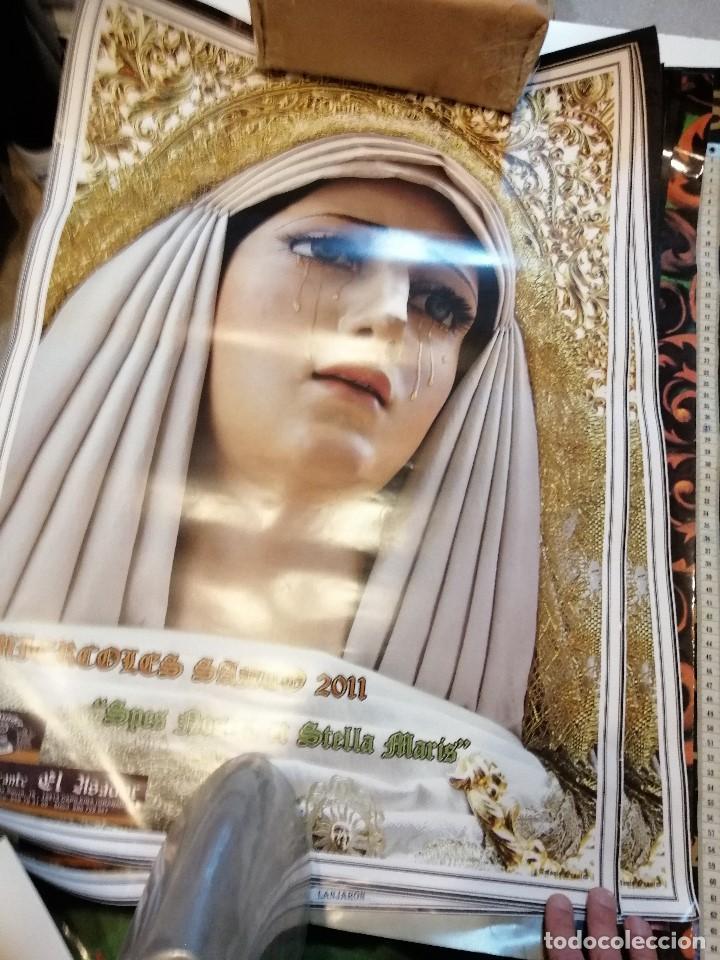 Carteles de Semana Santa: G-CADIZ1 LOTE DE 14 CARTELES POSTER DE SEMANA SANTA Y OTROS TAMAÑO GRANDE VENDO SUELTOS TAMBIEN - Foto 8 - 195573220