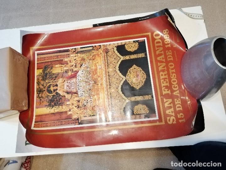 Carteles de Semana Santa: G-CADIZ1 LOTE DE 14 CARTELES POSTER DE SEMANA SANTA Y OTROS TAMAÑO GRANDE VENDO SUELTOS TAMBIEN - Foto 11 - 195573220