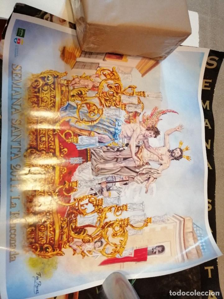 Carteles de Semana Santa: G-CADIZ1 LOTE DE 14 CARTELES POSTER DE SEMANA SANTA Y OTROS TAMAÑO GRANDE VENDO SUELTOS TAMBIEN - Foto 14 - 195573220