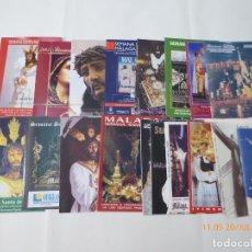 Carteles de Semana Santa: ITIN,ERARIOS SEMANA SANTA DE .MALAGA. Lote 195866583